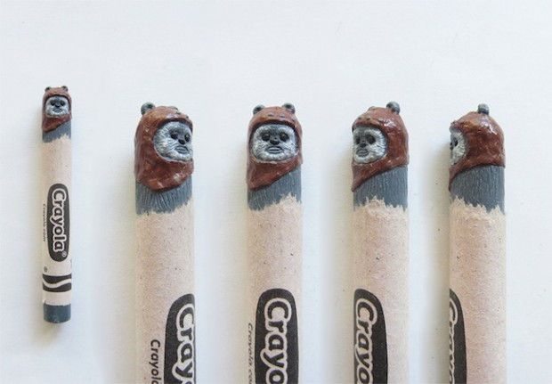 Wax Nostalgic Carved Crayons by HoangTran - Ewok