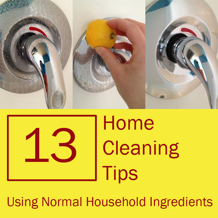 Cleaning Tips 13 home cleaning tips using normal household ingredients