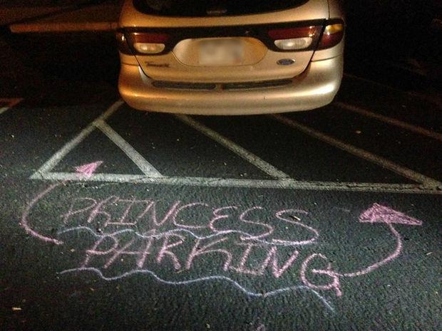 22 Bad Parking Jobs - Princess parking.