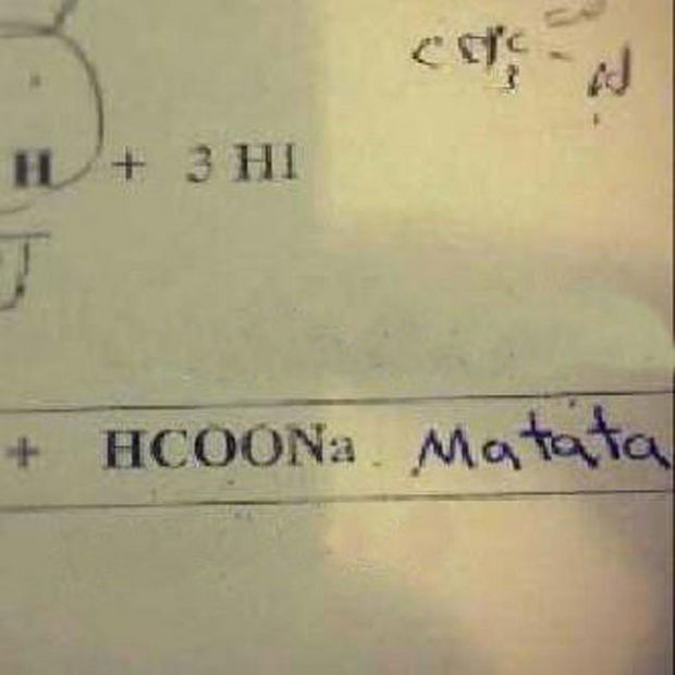 29 Funny Test Answers - HCOONa Matata