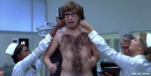 A Stylist Turns Hairy Chests Into Works of Art. Men Without Chest Hair Are out of Luck.
