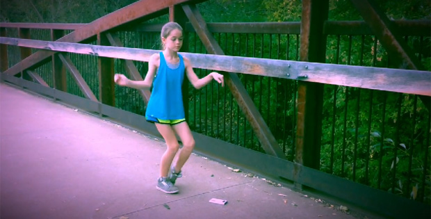 11-Year Old Adilyn Malcolm Stuns with Dubstep Dance Routine