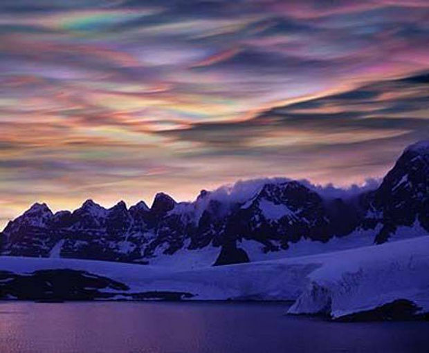 12 Types of Clouds That Are Awesome - Image 2 - Nacreous clouds.