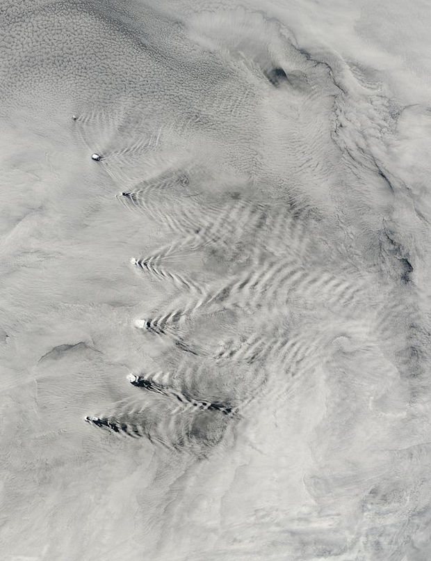 12 Types of Clouds That Are Awesome - Image 4 - Wave clouds.