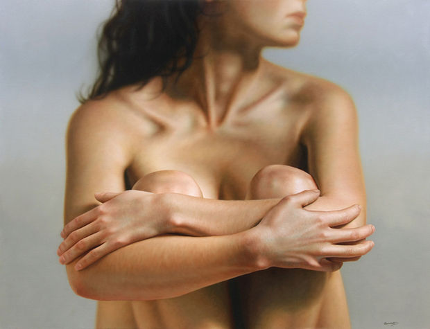 25 Amazingly Realistic Art Paintings - Omar Ortiz - Oil on linen.