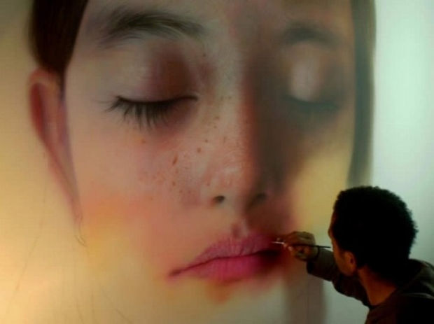 25 Amazingly Realistic Art Paintings - Kamalky Laureano - Acrylic on canvas.