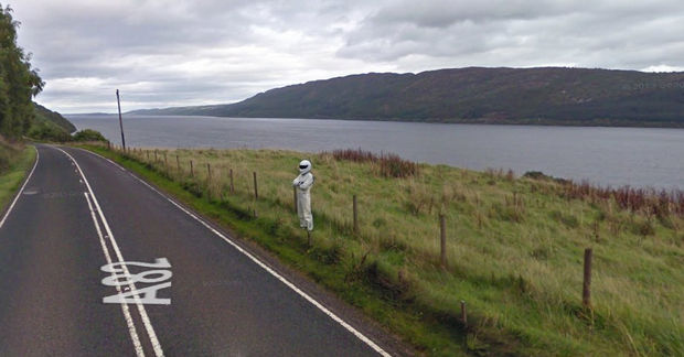 "25 Weird Things Found on Google Maps - ""Take me to your leader!"""
