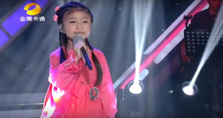 "Celine Tam Sings ""You Raise Me up"" Perfectly at Only 5 Years Old."