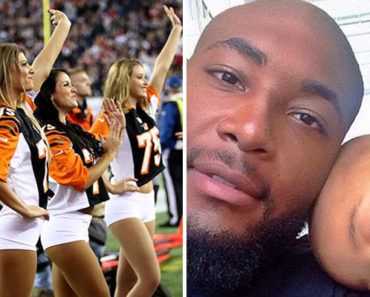 Cheerleaders Brought an NFL Player to Tears. Why They Did It Will Make Your Heart Melt.
