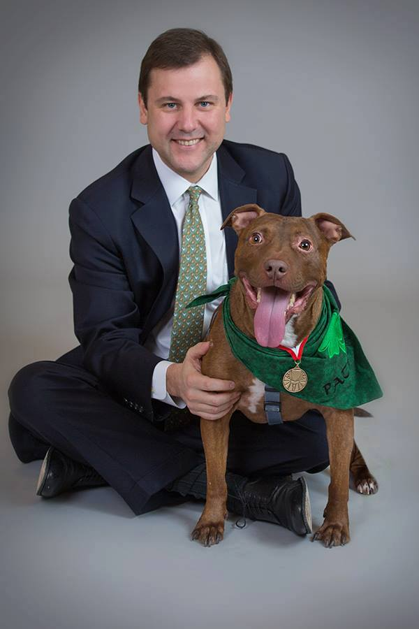 On March 9, 2014, The New Jersey Veterinary Medical Association (NJVMA) inducted Patrick the Pit Bull into their Animal Hall of Fame.