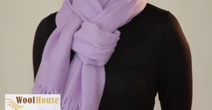 First style - 19 awesome ways to tie a scarf or shawl.