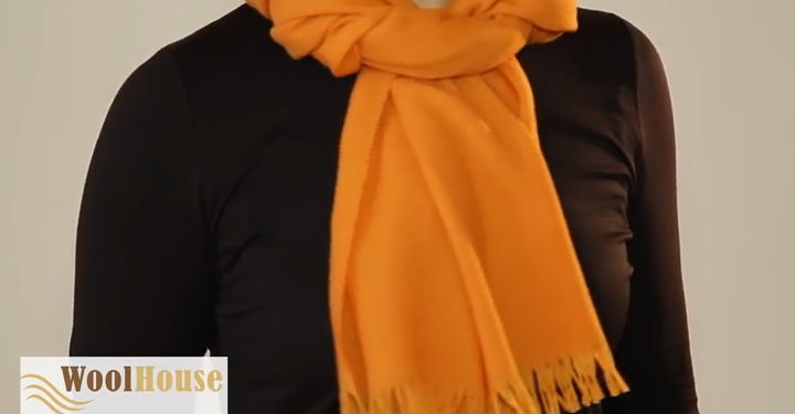 Style #2 - 19 awesome ways to tie a scarf or shawl.