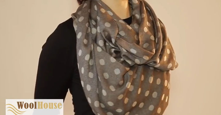 Style #13 - 19 awesome ways to tie a scarf or shawl.