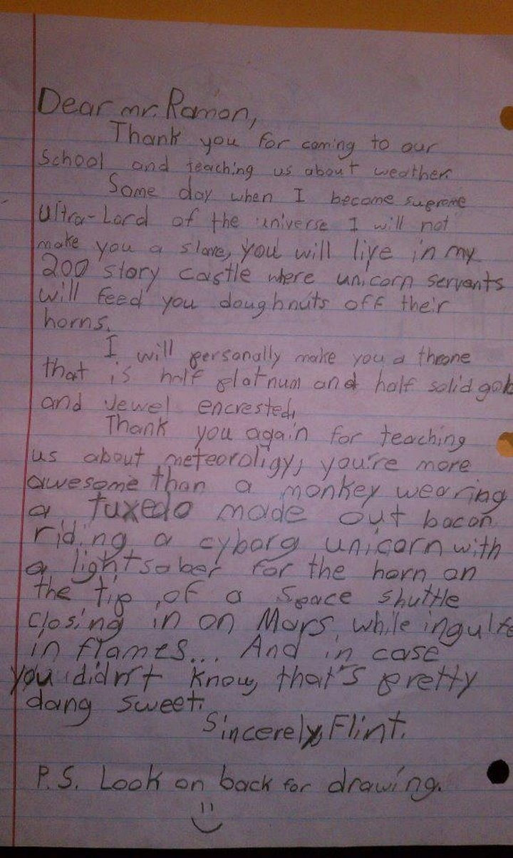19 Clever Kids - Best. Letter. Ever! This kid is epic, a must read.