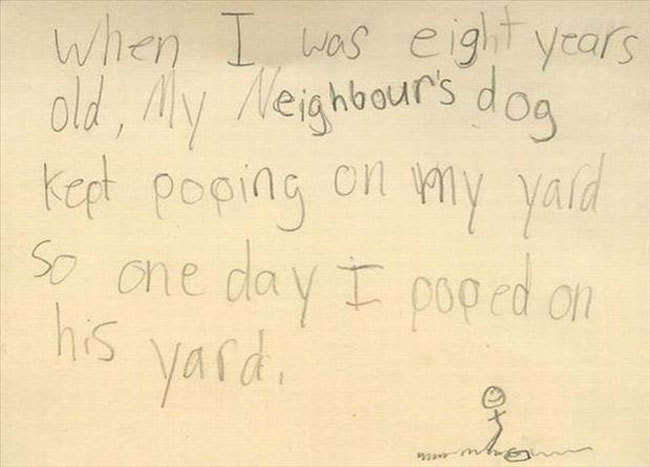 19 Clever Kids - That will teach him a lesson.