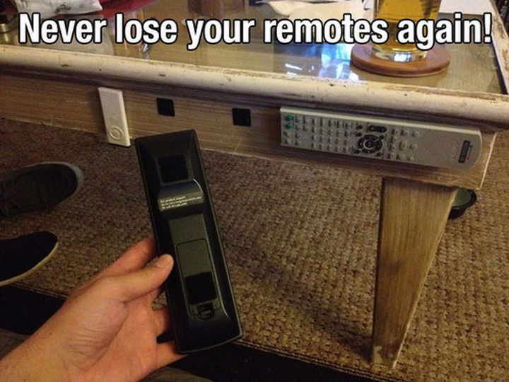 52 Cleaning and Life Hacks - Never lose your remotes again!