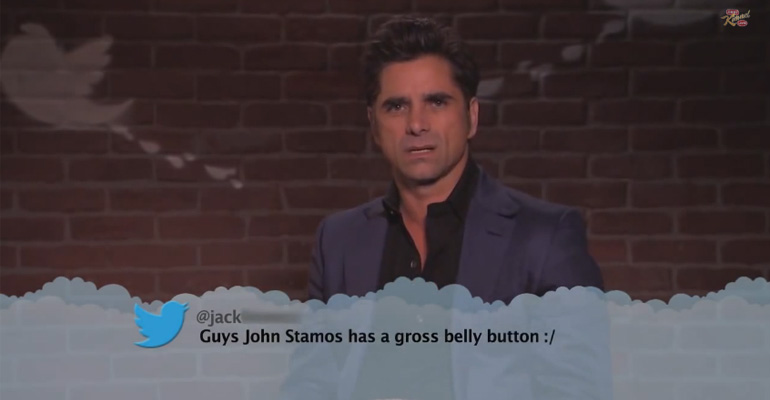 Celebrities read mean tweets on Jimmy Kimmel Live with the 8th Edition of 'Celebrity Mean Tweets.'
