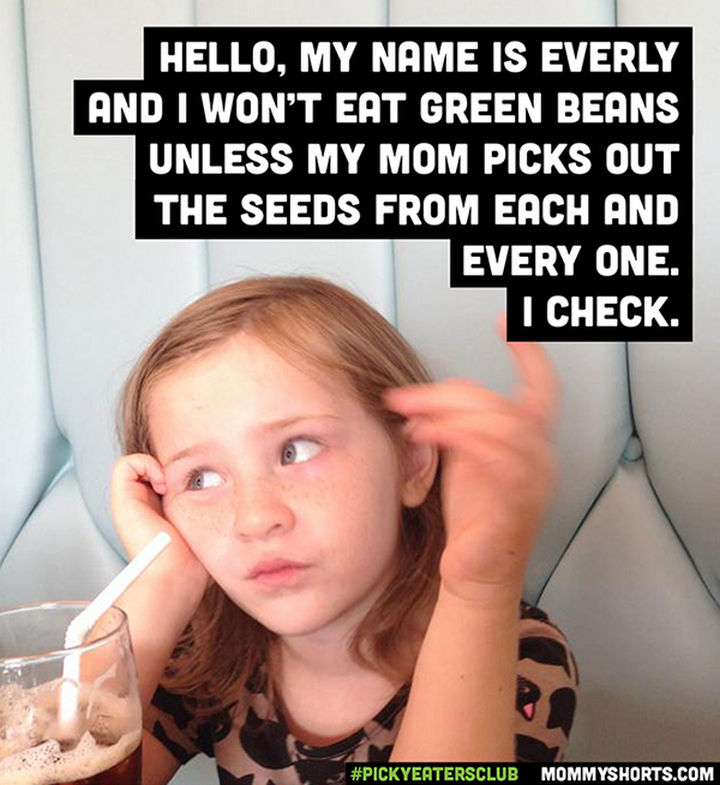 Picky Eaters Club - Hello, my name is Everly...