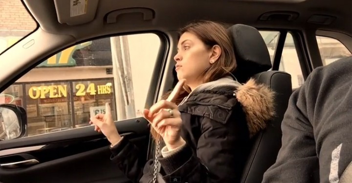 Chelsea Ranger Rapping in the Car to Salt-N-Pepa.