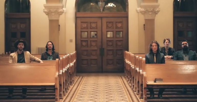 Home Free Sings 'Angels We Have Heard on High' in a Church and It Is so Beautiful.