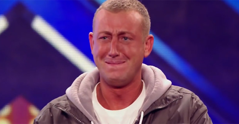 Chris Maloney Is Nervous but Gives a Stellar Performance.
