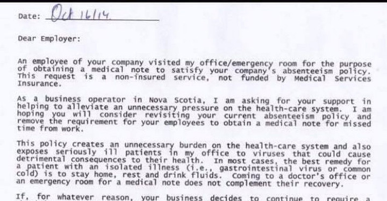 This Doctor Considers Fees for Companies Unnecessarily Sending Patients to Her Office
