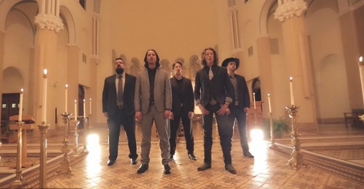 home free performs a christmas favorite o holy night - Home Free Christmas
