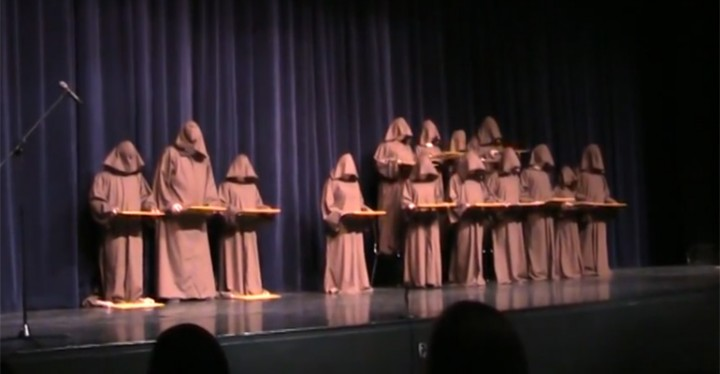 Silent Monks 'Singing' the Best Version of 'Hallelujah Chorus' Ever