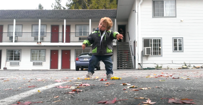 Toddler Is Only 2 Years Old but His Dubstep Dance Rocks.