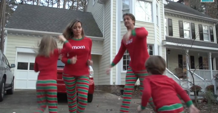 The holderness familys christmas jammies is the best ever christmas jammies is the best video family christmas card ever m4hsunfo