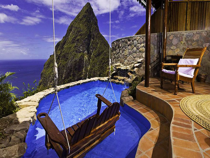 12 Amazingly Cool Hotels - Image 2 - Ladera Resort, St. Lucia.