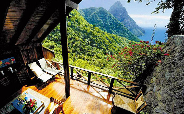 12 Amazingly Cool Hotels - Image 3 - Ladera Resort, St. Lucia.