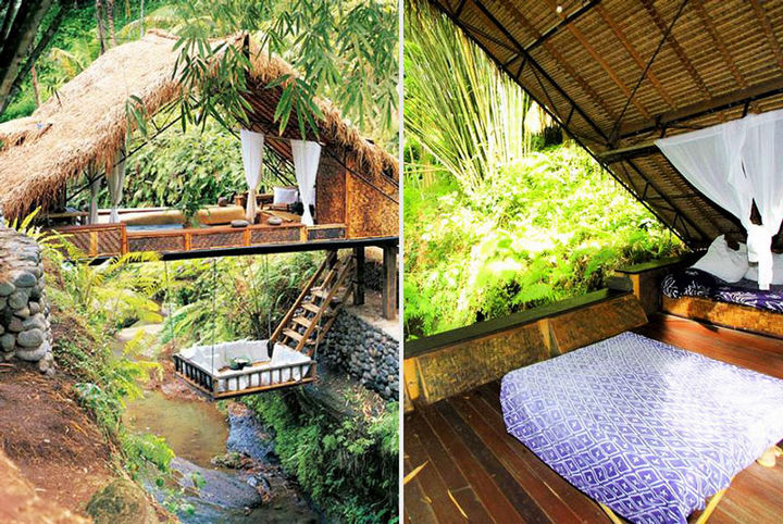 12 Amazingly Cool Hotels - Panchoran Retreat, Bali.