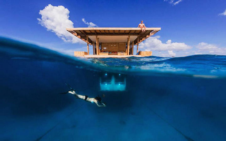 12 Amazingly Cool Hotels - The Manta Resort, Zanzibar.