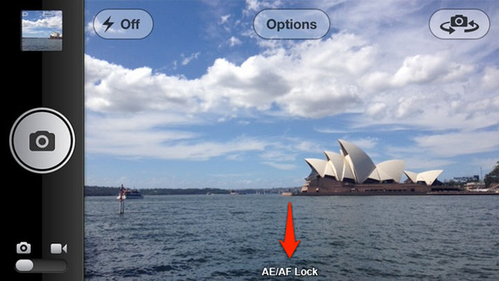 19 iPhone Tips and Tricks - Lock exposure you autofocus when taking a picture.