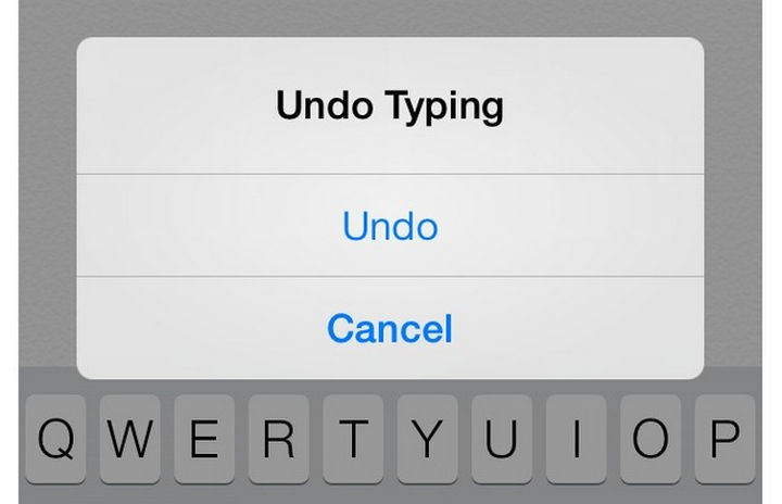 19 iPhone Tips and Tricks - Shake your phone to undo.