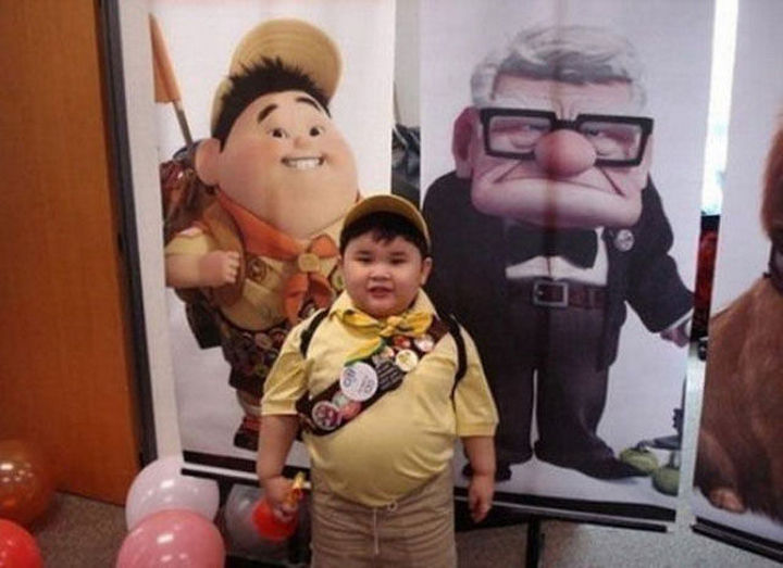 25 People That Look Like Cartoon Characters In Real Life - Russell of Up.