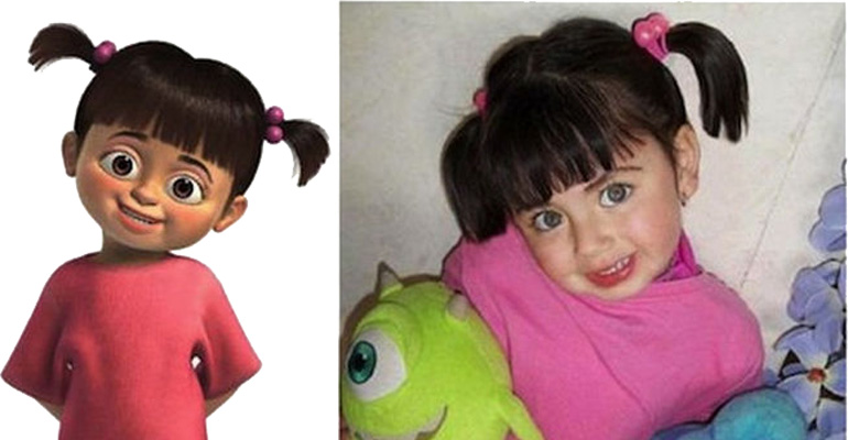 25 People That Resemble Your Favorite Cartoon Chararacters
