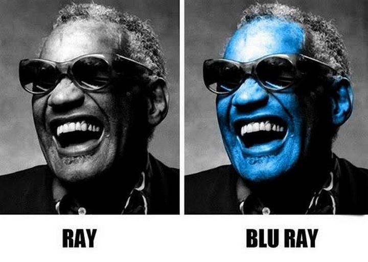 55 Hilariously Funny Celebrity Name Puns - Ray Charles.