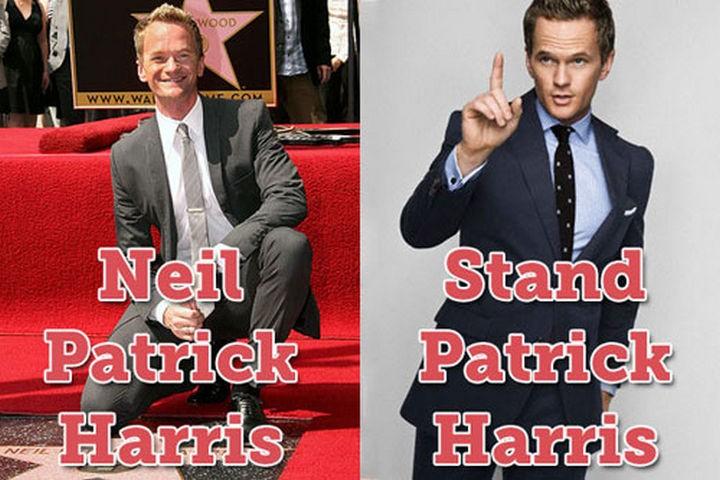 55 Hilariously Funny Celebrity Name Puns - Neil Patrick Harris.