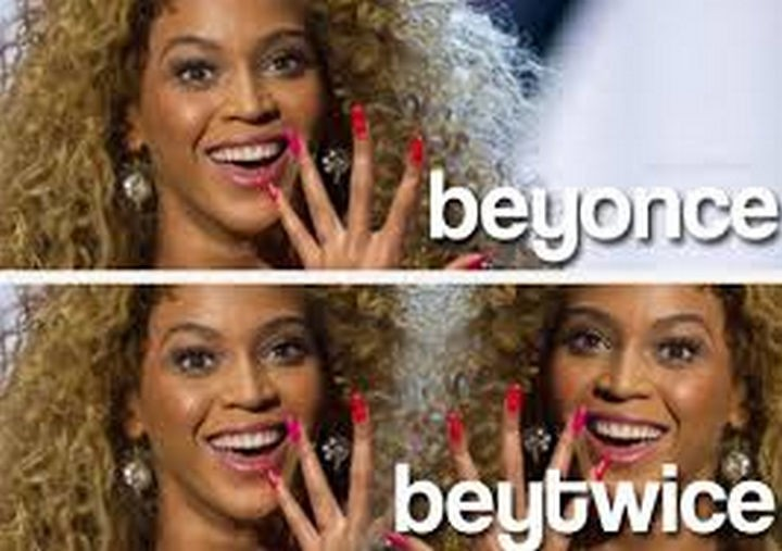 55 Hilariously Funny Celebrity Name Puns - Beyonce.