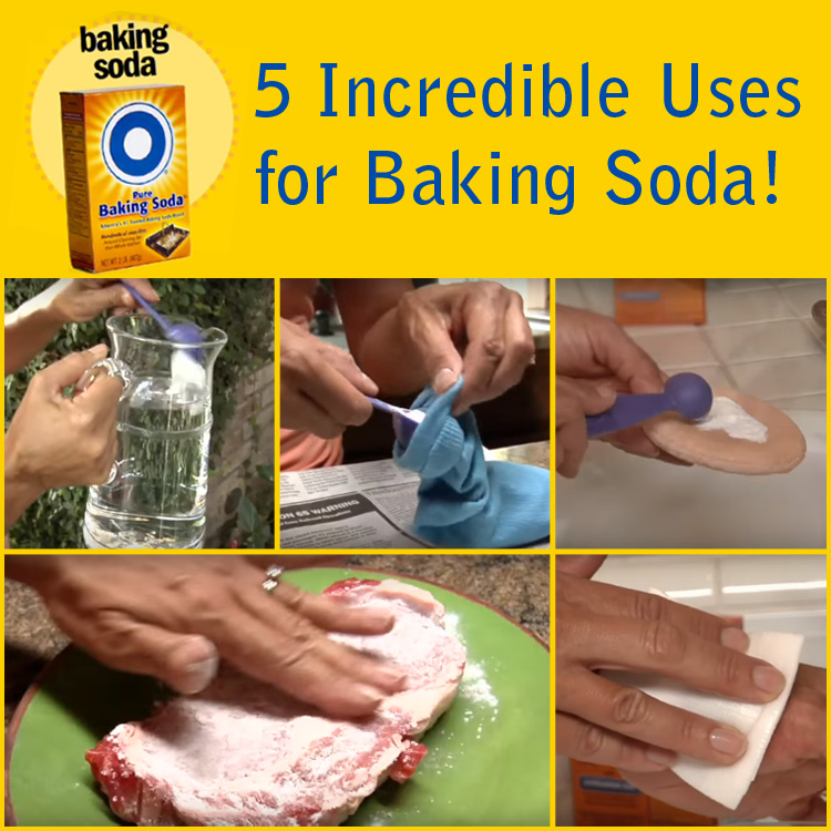 5 Incredible Things You Can Do with Baking Soda.
