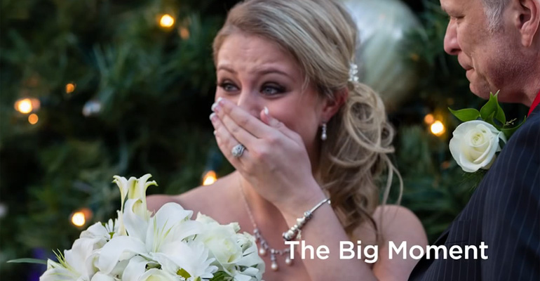 Bride to Be Gets Surprise Flash Mob Wedding at Mall of Goergia