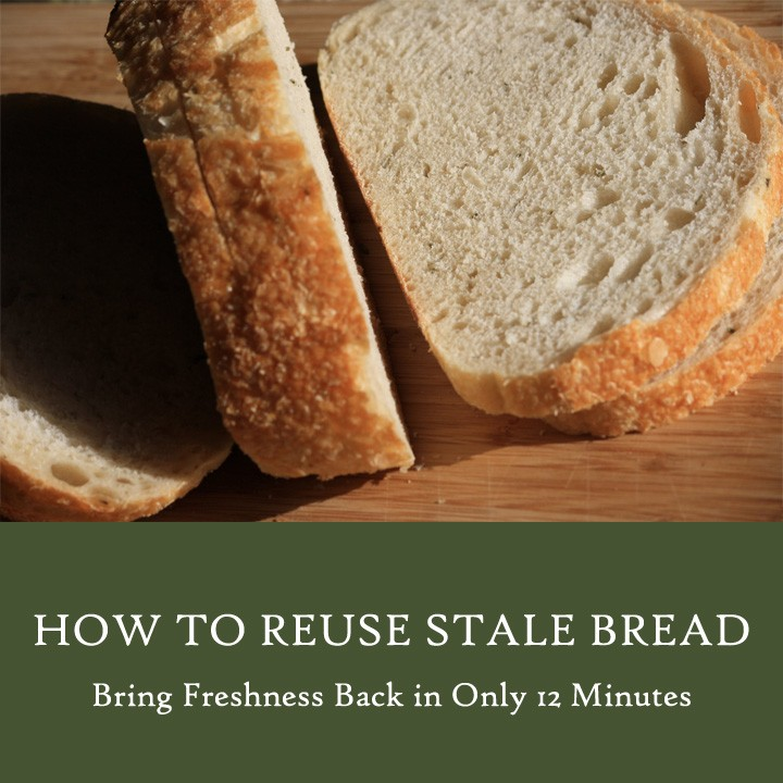 How to reuse stale bread