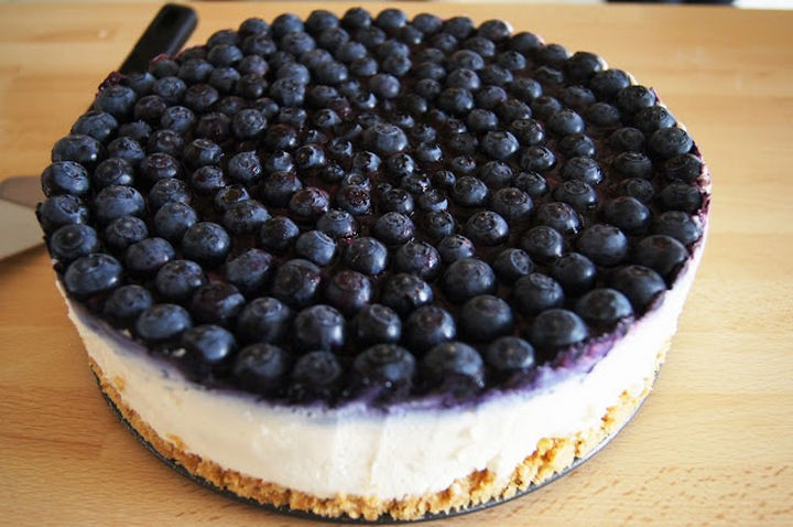 19 Photos Perfectionists Will Love - The perfect blueberry cheesecake.