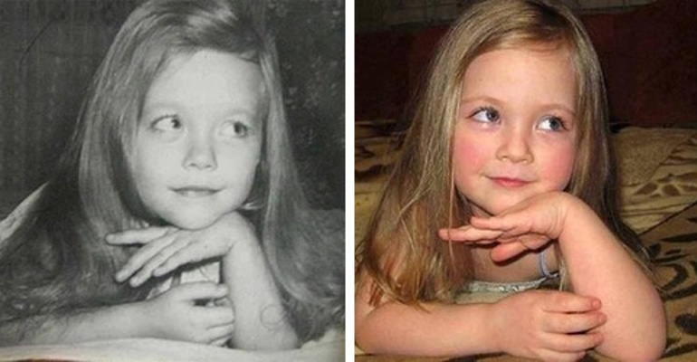 These 28 Children and Adults Look Nearly Identical to Their Parents at the Same Age