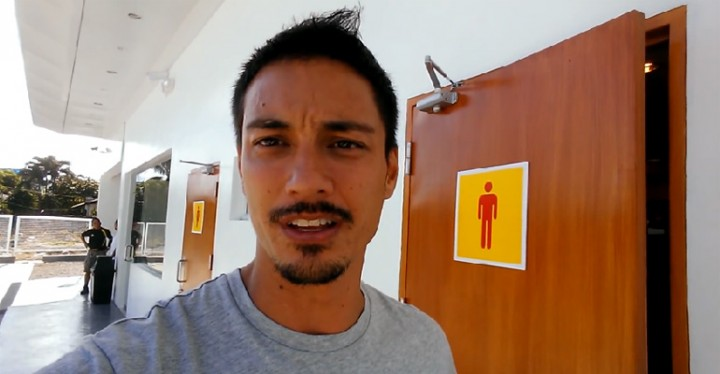 You will wish every gas station washroom looked like this - Shell Gas Station Bathroom in Bohol, Philippines.