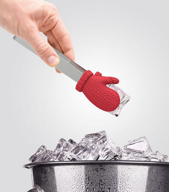 35 Kitchen Gadgets To Make Any Kitchen Guru Happy - Fred and Friends COLD FINGERS ice tongs.
