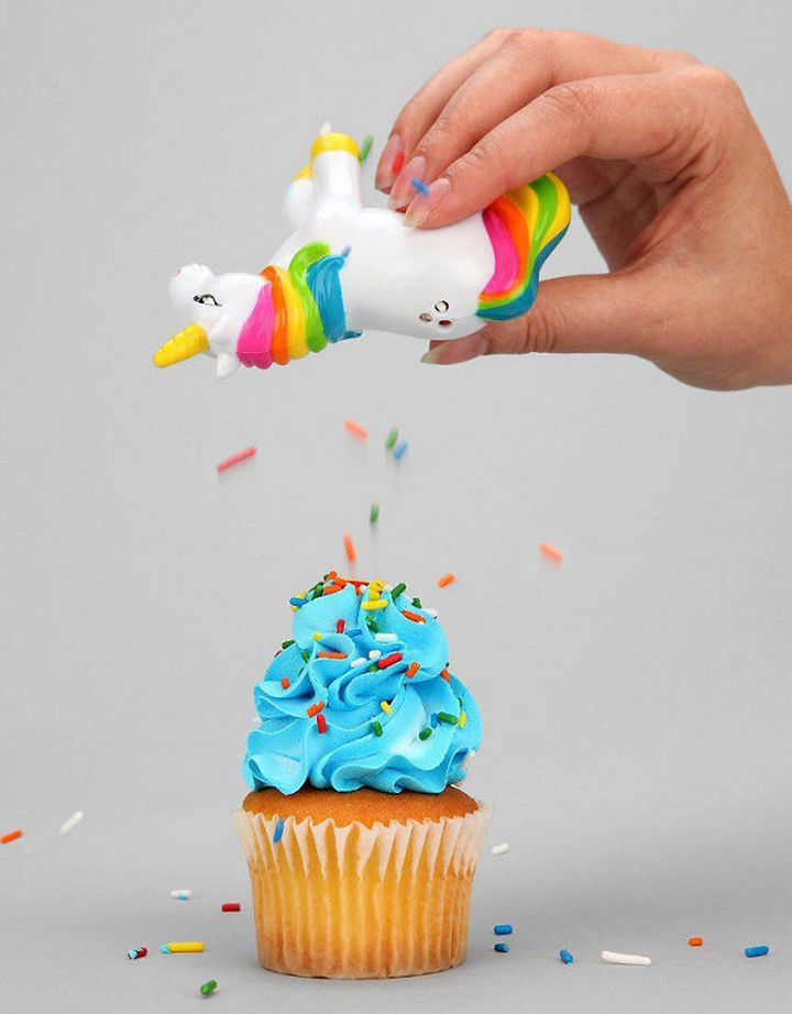 35 Kitchen Gadgets To Make Any Kitchen Guru Happy - Unicorn Sprinkles Shaker.