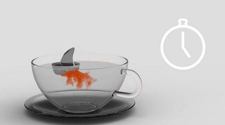 35 Kitchen Gadgets To Make Any Kitchen Guru Happy - Sharky Tea Infuser